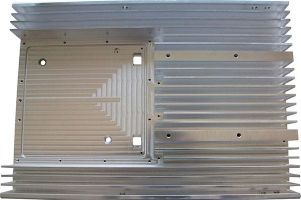 铝散热器加工件